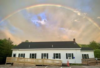 comm bldg rainbow